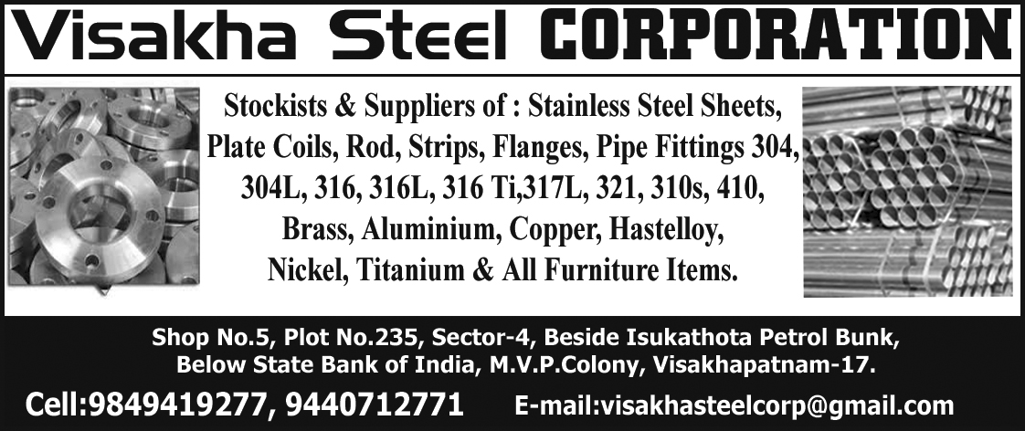 VISAKHA STEEL CORPORATION